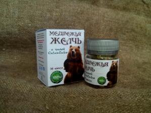 Медвежья желчь с травой Саган-дайля, 30 капсул